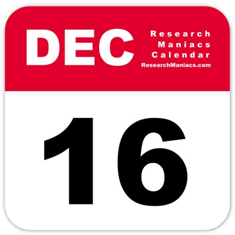 10 feb day information about december 16