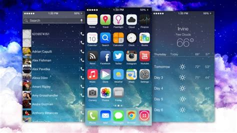 ios theme for android apple fait retirer une interface android ressemblant 224 ios 7 iphoneaddict fr