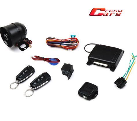 Alarm Mobil Universal Automotif 2015 universal car security automobile electronic anti theft system car alarm system