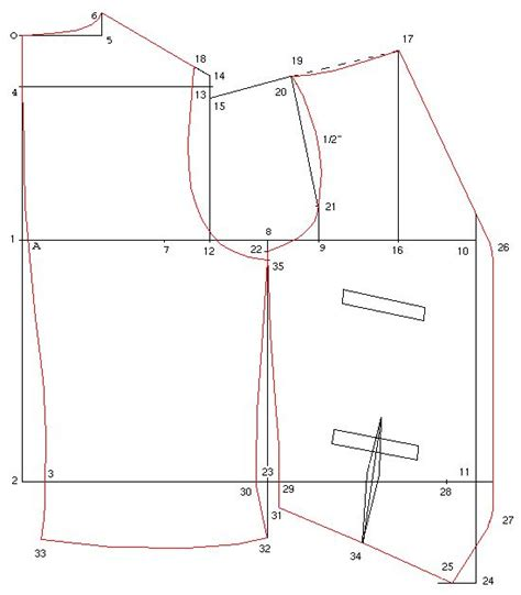 pattern drafting in tailoring drafting men s single breasted waistcoat pattern from