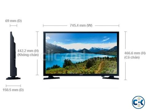 Tv Samsung J4303 samsung j4303 32 inch hd ready usb smart led tv clickbd