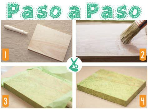 tutorial de decoupage en madera paso a paso decoupage