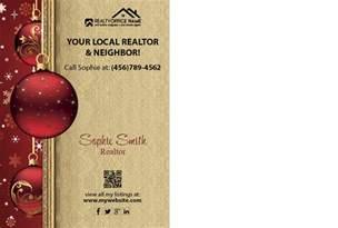 real estate holiday postcard 05 real estate christmas