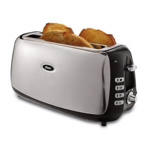 Sunbeam 2 Slice Toaster Review Oster Tsstjcps01 033 4 Slice Long Slot Toaster Lowe S Canada