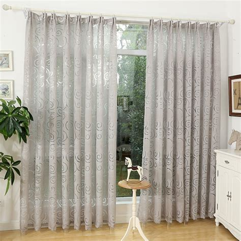 decorative curtains for living room free shipping jacquard 3d geometric pattern decorative