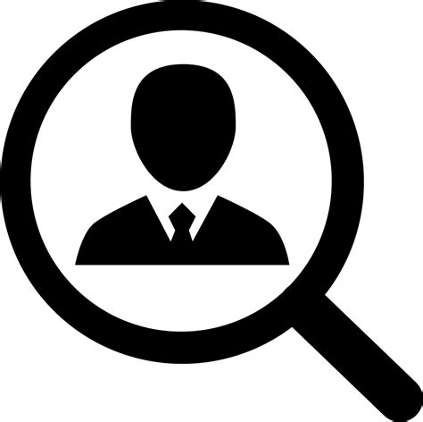 search  talent svg png icon