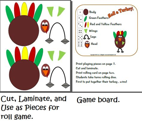 printable roll a turkey roll a turkey dice games teaching heart blog teaching