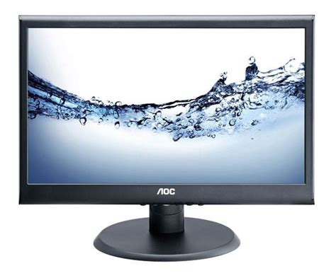 Monitor Led Aoc 19 Inch aoc 19 quot 18 5 quot inch led monitor hd ready 1366 x 768 5ms vga 16 9 ebay