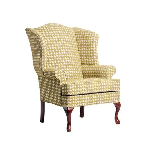 Wing Back Accent Chair by Leroux Lime Cherry Wing Back Chair Comfort Pointe Arm