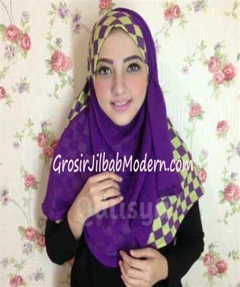 Elmo Syiria Jilbab Elmo Anak jilbab syria elmo no 5 hijau elektrik ungu grosir jilbab
