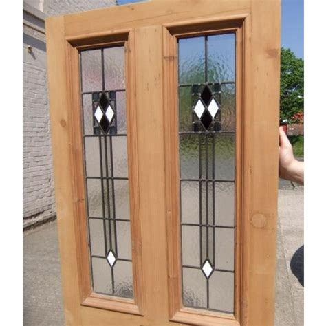 Painting Glass Panel Doors 4 Panel Deco Stained Glass Door Period Home Style