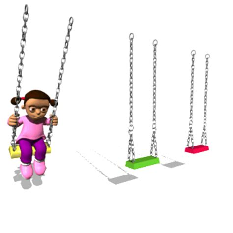 swing set physics if you rock back and forth