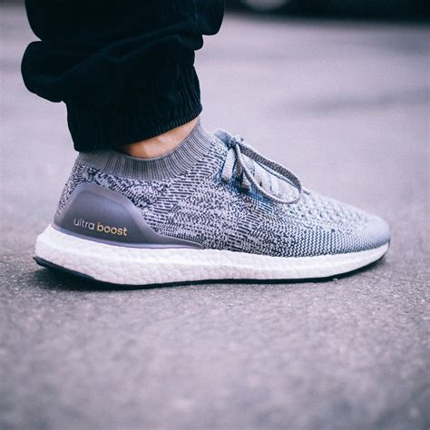 more images of the grey adidas ultra boost uncaged