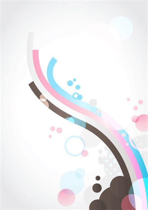 wallpaper garis bergelombang desain vector menggunakan adobe illustrator