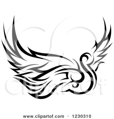 tribal swan tattoo designs motorcycle tribal clipart black and white clipart panda