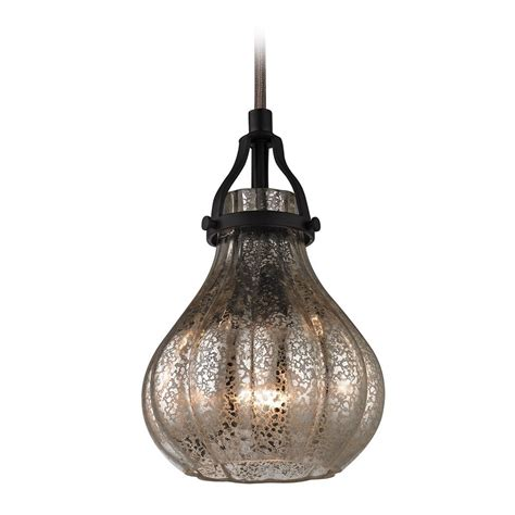 Glass Lighting Pendants Mini Pendant Light With Mercury Glass 46024 1 Destination Lighting