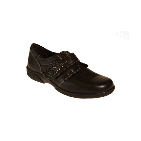 db shoes db shoes healey black single touch velcro wide