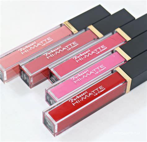 Harga Purbasari Hi Matte Lipstick review purbasari hi matte lip semua warna