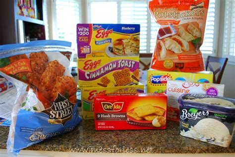Freezer Frozen Food cheesy hash brown casserole mess for less