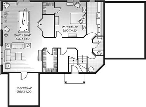 free house plans with basements house plans with basements free duplex house plans with