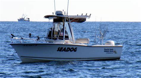 rhode island charter boats thomcat s charter fishing boat in rhode island the seadog