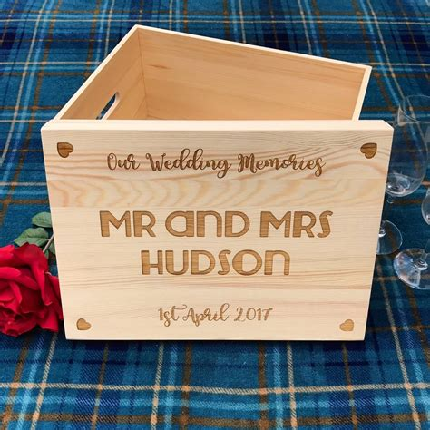 Wedding Keepsake Box Not On The High by Large Wedding Keepsake Box By Laser Made Designs