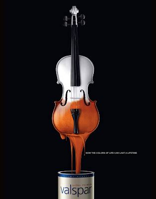 color ad creative paint advertising advertisements