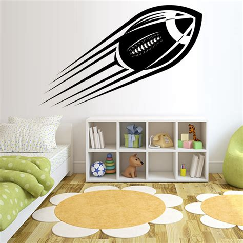 wall stickers boys room american football wall stickers room decoration vinyl