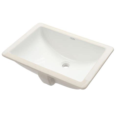 standard studio sink standard studio rectangular undermounted bathroom