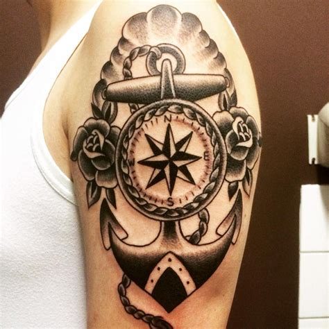 navigation tattoo nautical arm best design ideas