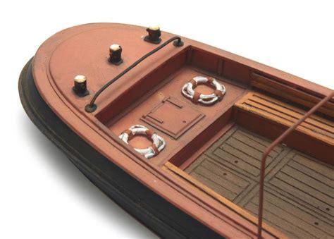 bouwpakket motorboot barkas resin bouwpakket 1 87 artitecshop