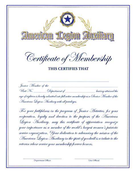 american legion auxiliary membership card template 2017 auxiliary junior member graduation certificate american