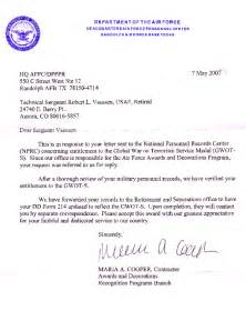 Proof Of Service Letter Usaf What S New