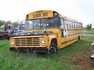 1974 ford b700 school photo picture