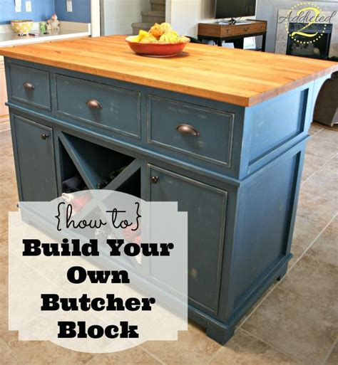 how to make your own kitchen island 17 best ideas about butcher block tables on pinterest