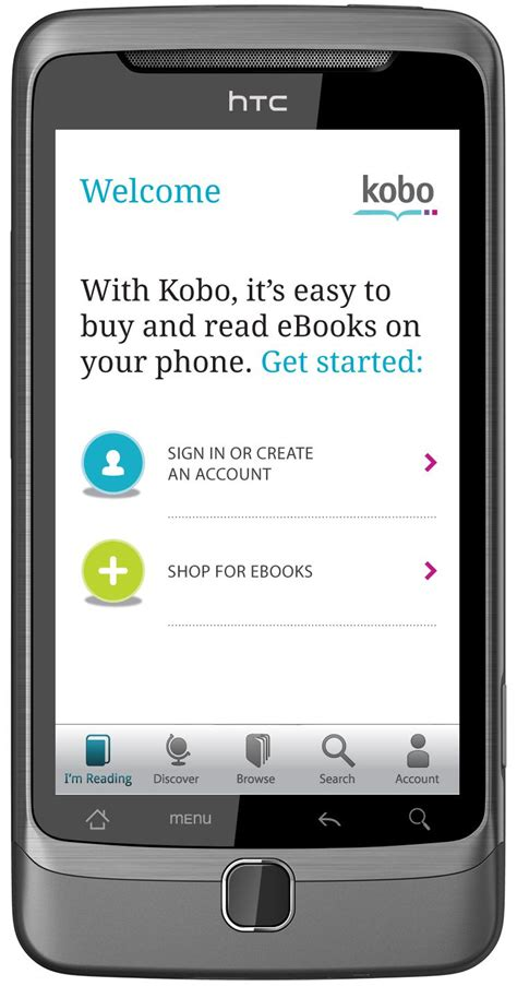 kobo for android kobo app for android