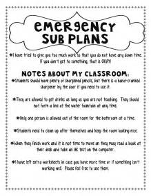 Substitute Lesson Plan Template by Step Into 2nd Grade With Mrs Lemons Planning For A Sub