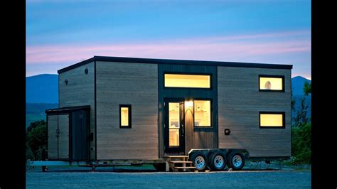 Hous by Gorgeous Tiny House Built For Mother And Daughter Youtube