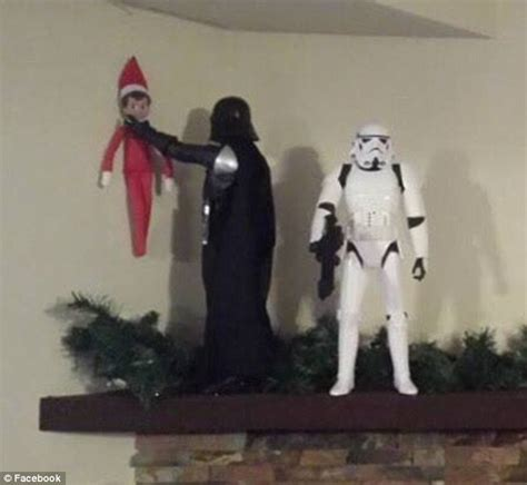 elf on the shelf star wars printable this is what happens when elf on a shelf is left up to