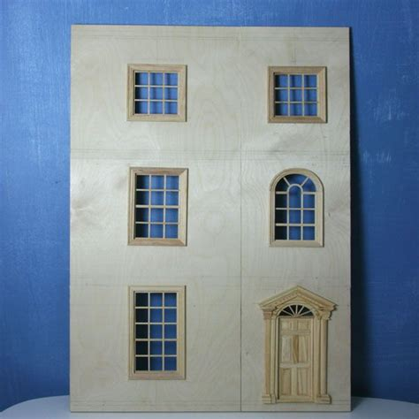 dolls house windows and doors make front opening doors for a dolls house or baby house