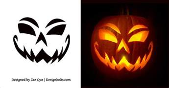 10 free scary pumpkin carving patterns stencils 10 free printable scary pumpkin carving patterns