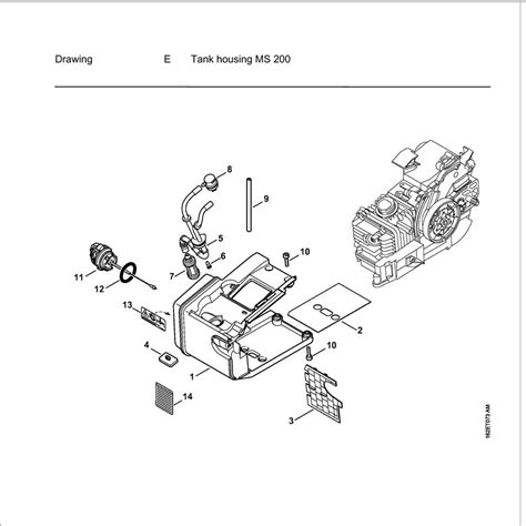 stihl 020t parts diagram buy a stihl ms200t spare part or replacement part for your