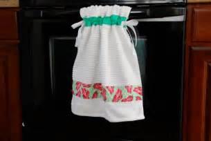 pin sew press tutorial stay put kitchen towel