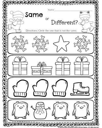 kindergarten activities same and different same and different worksheets preschool popflyboys