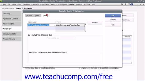 tutorial on quickbooks payroll quickbooks pro 2014 tutorial setting up employee payroll