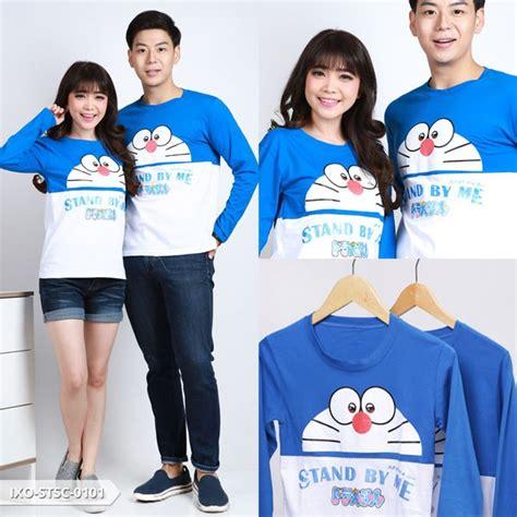 Baju Kaos Pria Doraemon Sy1165 lp doraemon stand by me baju lengan panjang kaos