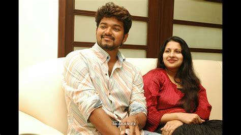 actor vijay and wife photos vijay with wife sangeetha youtube