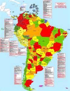 map of south america states hisatlas mapa de suram 233 rica 2010