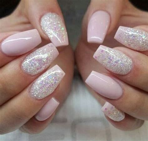 Glitter Nail by 20 Nail Design And Ideas For Coffin Nails Styleoholic