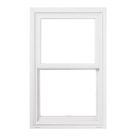 Jeld Wen 24 In X Jeld Wen 24 In X 48 In V 2500 Series Hung Vinyl Window White 8a2378 The Home Depot